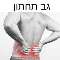 כאבים בגב תחתון
