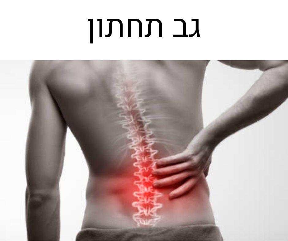 תרגיל להקלה בכאבי גב תחתון