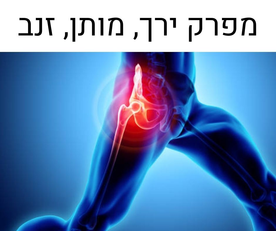 תרגיל להקלה בהמפרק הירך, עצם הזנב או במותן